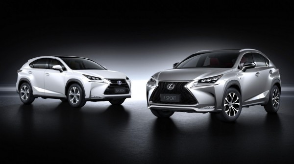 2015 Lexus NX Family 000 600x335 at 2015 Lexus NX Officially Unveiled