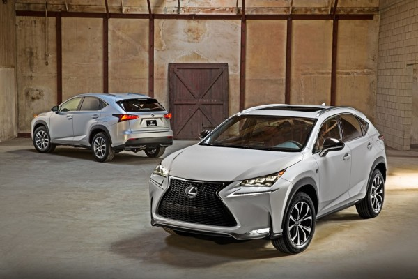 2015 Lexus NX Family 001 600x400 at 2015 Lexus NX Officially Unveiled