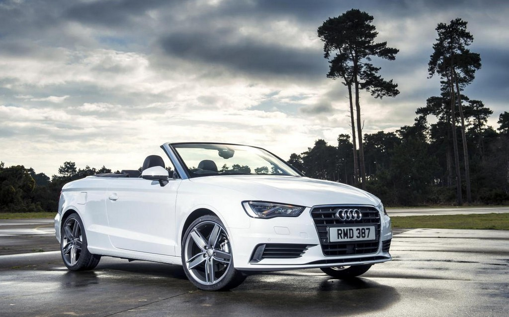 audi a3 cabriolet gets frugal tdi version in the uk. Black Bedroom Furniture Sets. Home Design Ideas