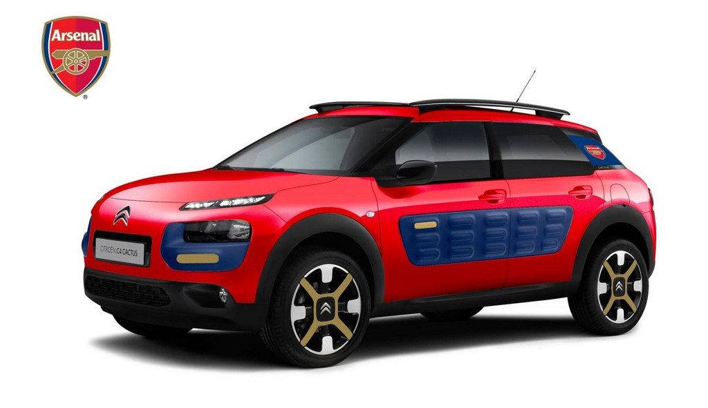 citroen cactus arsenal edition. Black Bedroom Furniture Sets. Home Design Ideas
