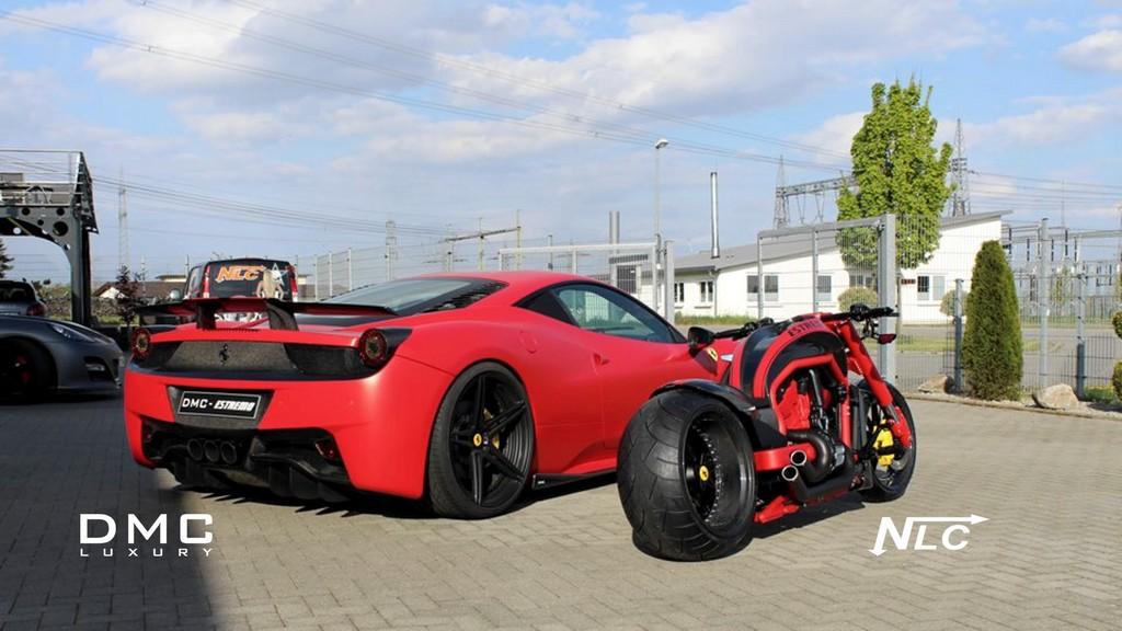 Dmc Ferrari 458 Estremo Gets Mini Me Bike From Nlc