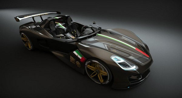 Dubai Roadster 1 600x322 at Dubai Roadster to Become the First Arabian Track Car