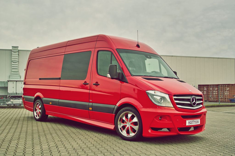 hartmann tuning mercedes sprinter is van par excellence. Black Bedroom Furniture Sets. Home Design Ideas