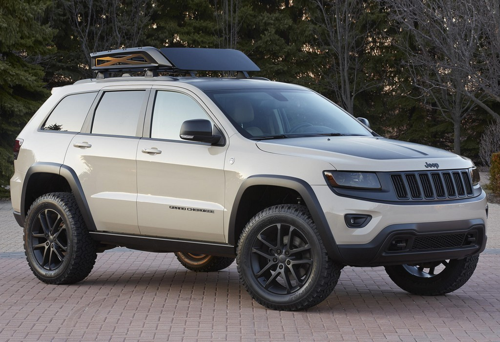 Jeep Renegade Trailhawk Lift >> 2014 Moab: Jeep Grand Cherokee Trail Warrior