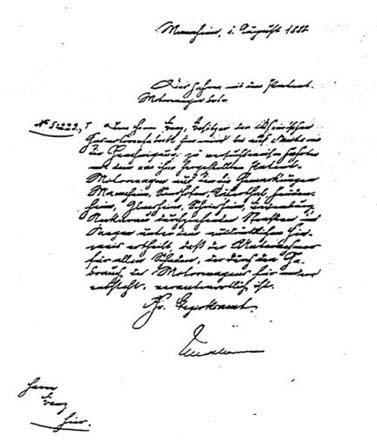 Karl Benz Führerschein First Ever Driver License