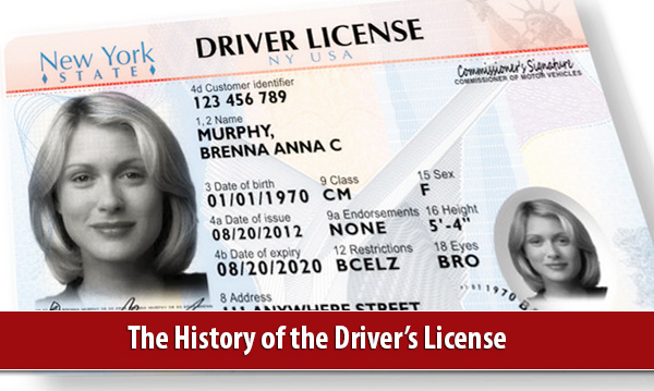 New York Sample License1 at The History of the Driver's License