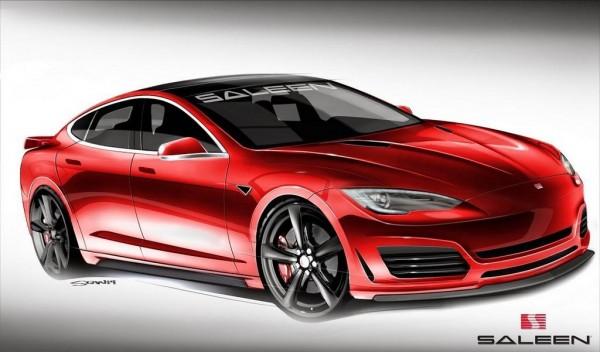 Tesla Model S by Saleen-1