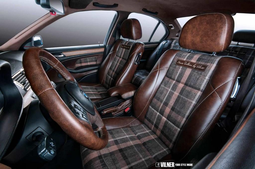 Vilner Bmw 3 Series E46 Gets Retro Cool Interior