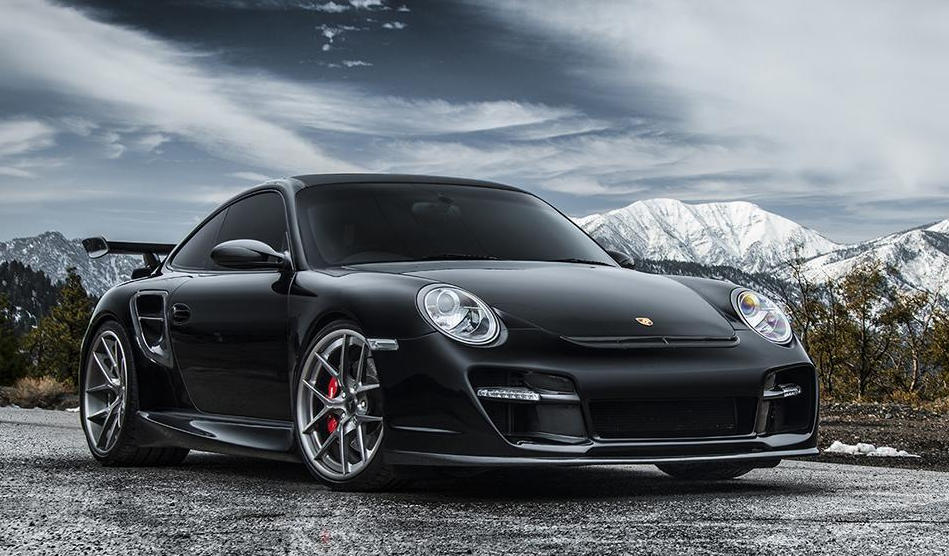 Vorsteiner Porsche 997 Turbo V Rt In Black