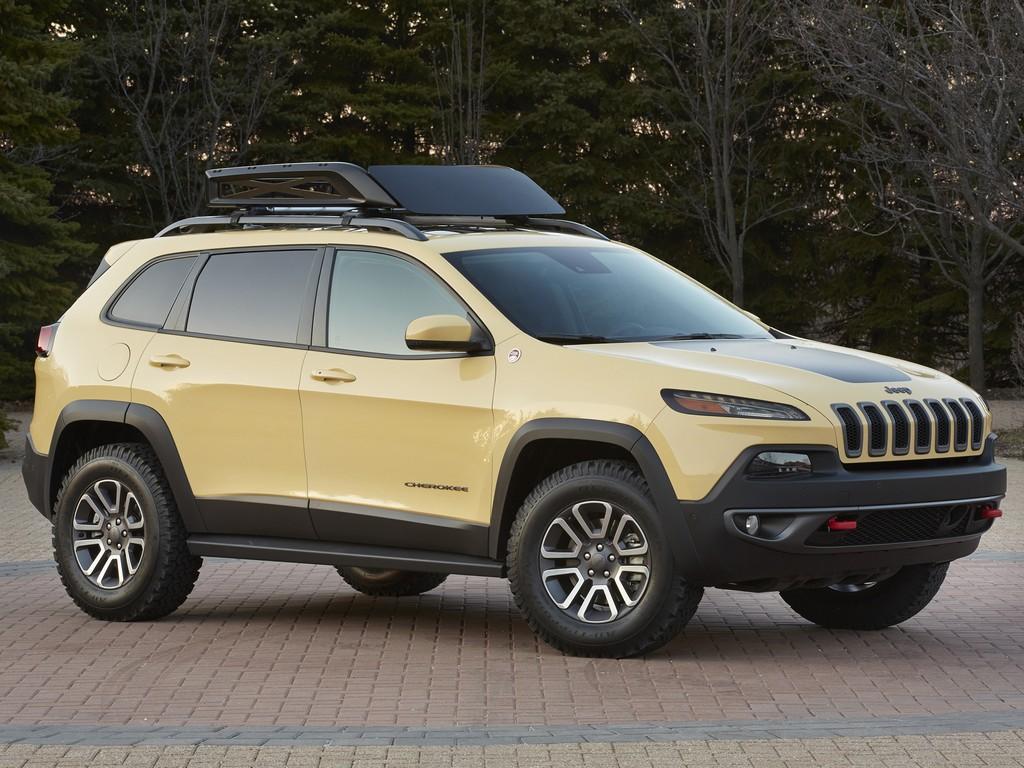 2014 Moab Jeep Cherokee Concepts