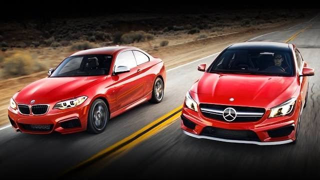 2014 Mercedes Benz Cla 45 Amg Vs 2014 Bmw M235i Video