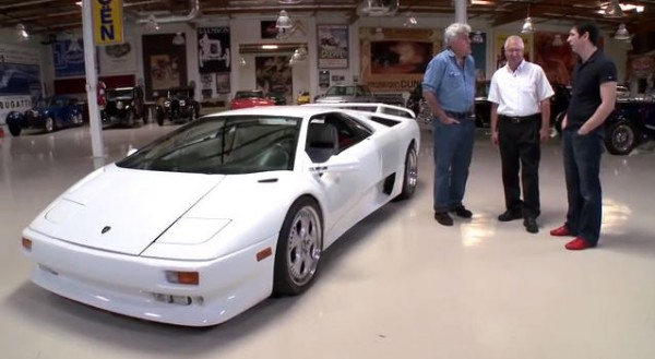 Jay Leno Drives His Mechanic S 1991 Lamborghini Diablo