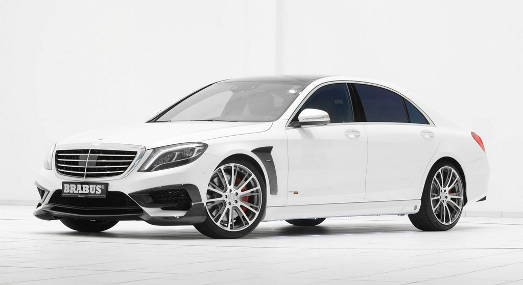 Mercedes Benz Rims >> Brabus 850 Based on Mercedes S63 AMG S-Model