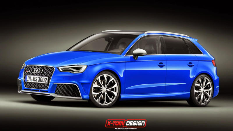 audi a3 clubsport quattro rendered as sportback. Black Bedroom Furniture Sets. Home Design Ideas