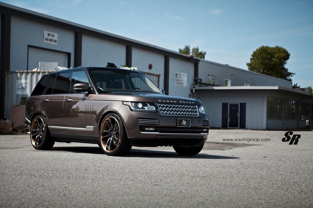 Eye Candy Hazelnut Brown Range Rover On Pur Wheels