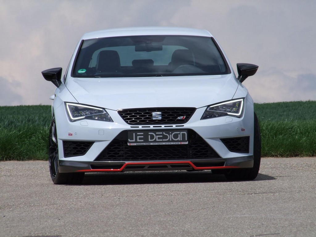 je design seat leon cupra tuned to 350 hp. Black Bedroom Furniture Sets. Home Design Ideas