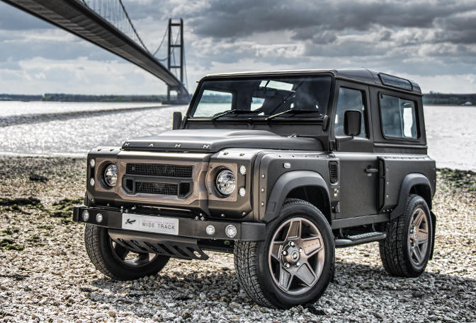 Kahn Design Land Rover Defender In Volcanic Black
