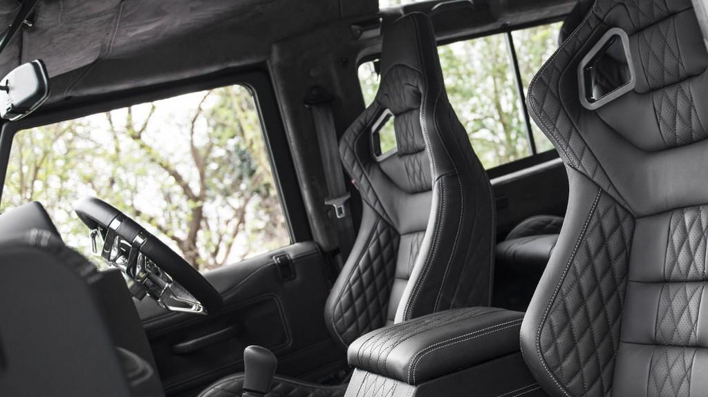 Kahn Design Land Rover Defender In Volcanic Black