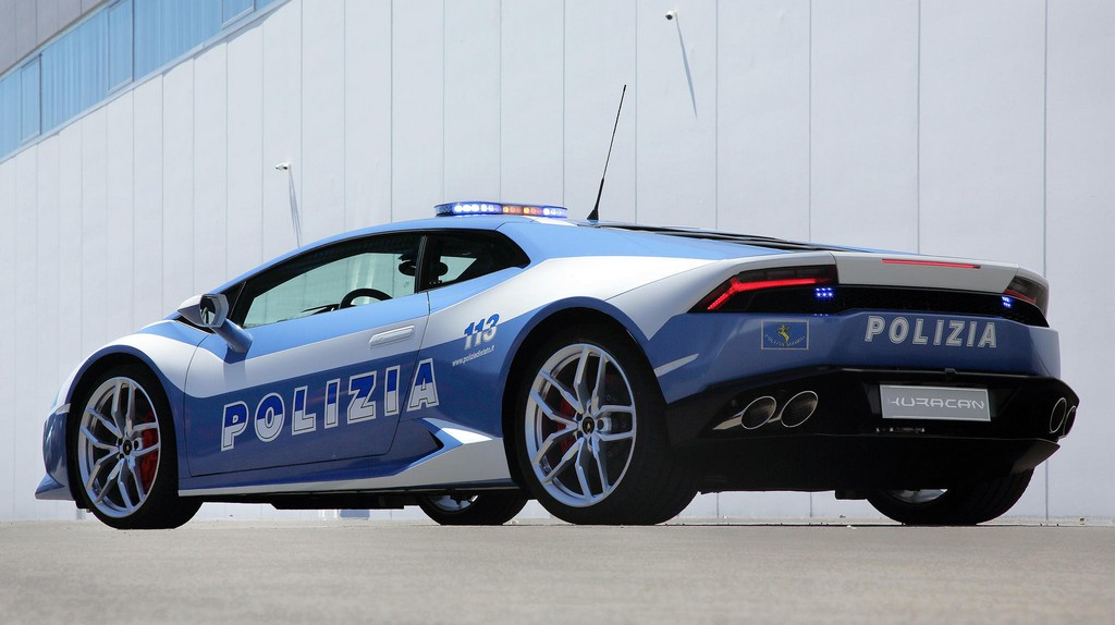 picture of Lamborghini Police Car