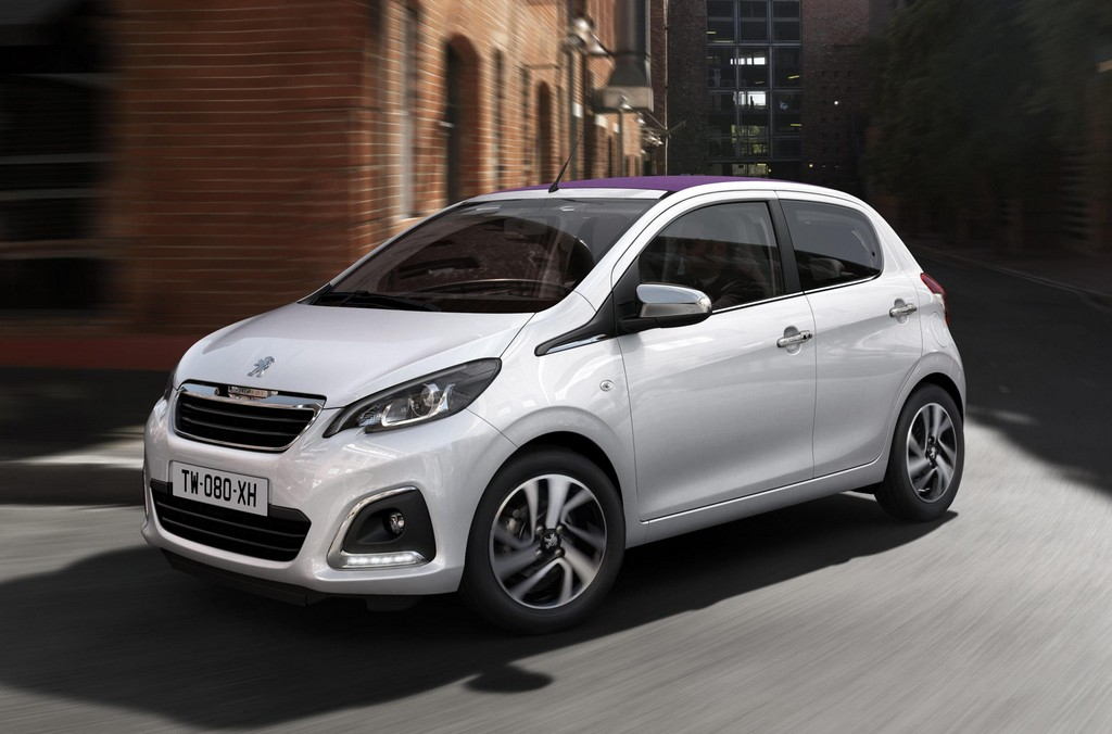 peugeot 108 uk pricing announced. Black Bedroom Furniture Sets. Home Design Ideas