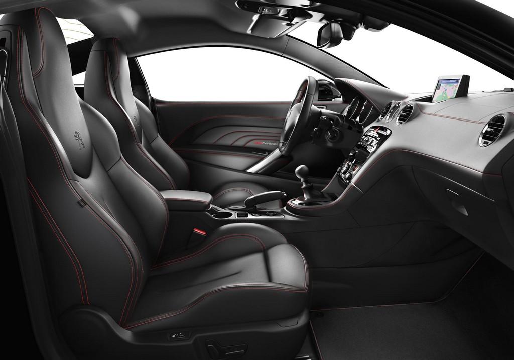 Peugeot rcz red carbon special edition announced for Peugeot rcz interieur