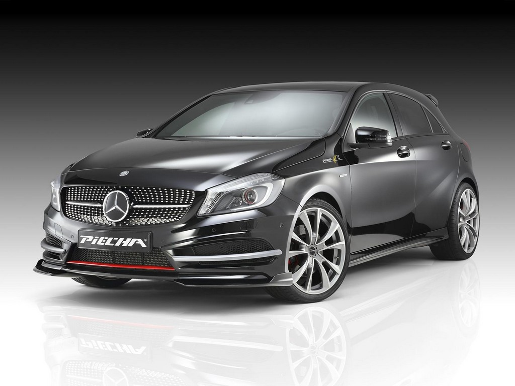 piecha design mercedes a class amg styling kit. Black Bedroom Furniture Sets. Home Design Ideas