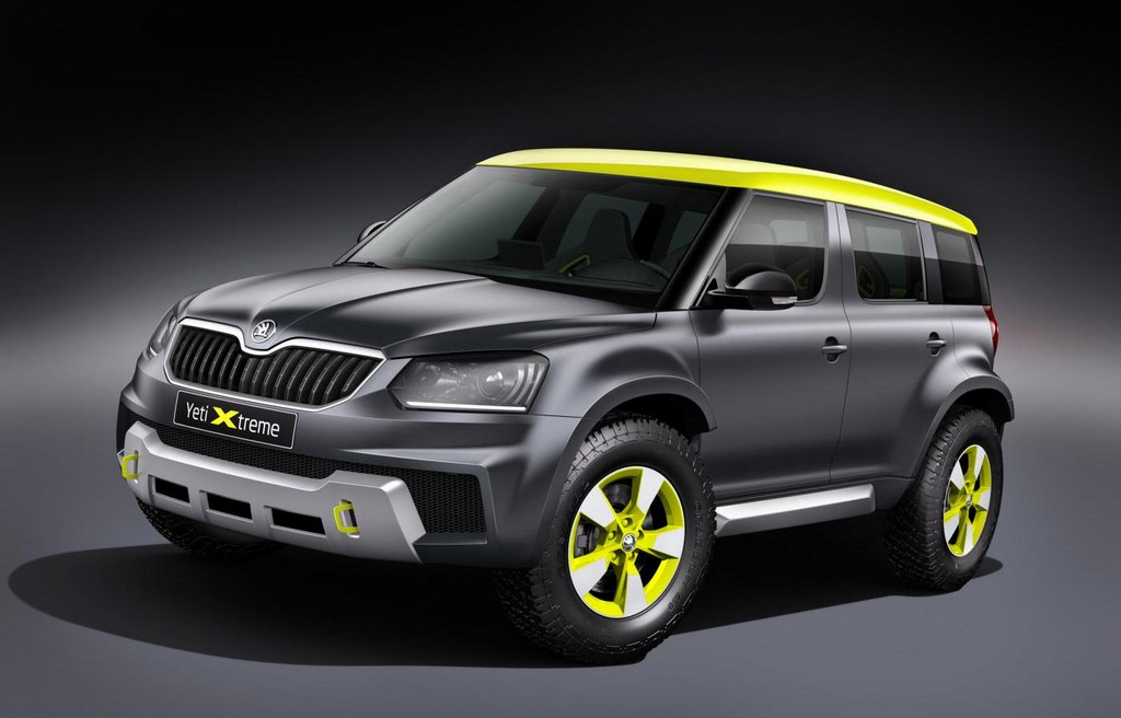 skoda yeti xtreme revealed for worthersee 2014. Black Bedroom Furniture Sets. Home Design Ideas