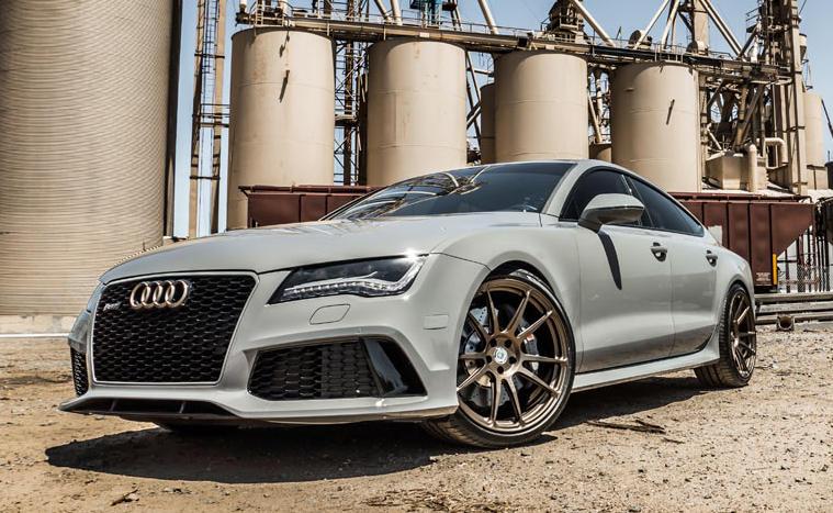 Audi Rs7 Nardo Grey >> TAG Motorsport Audi RS7 Mixes Nardo Grey with Bronze