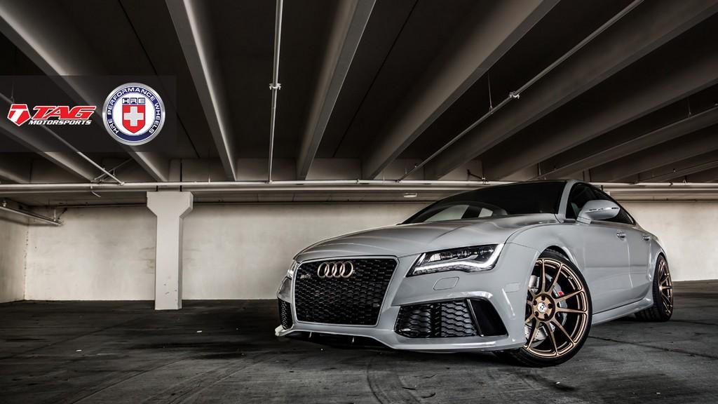 TAG Motorsport Audi RS7 Mixes Nardo Grey with Bronze
