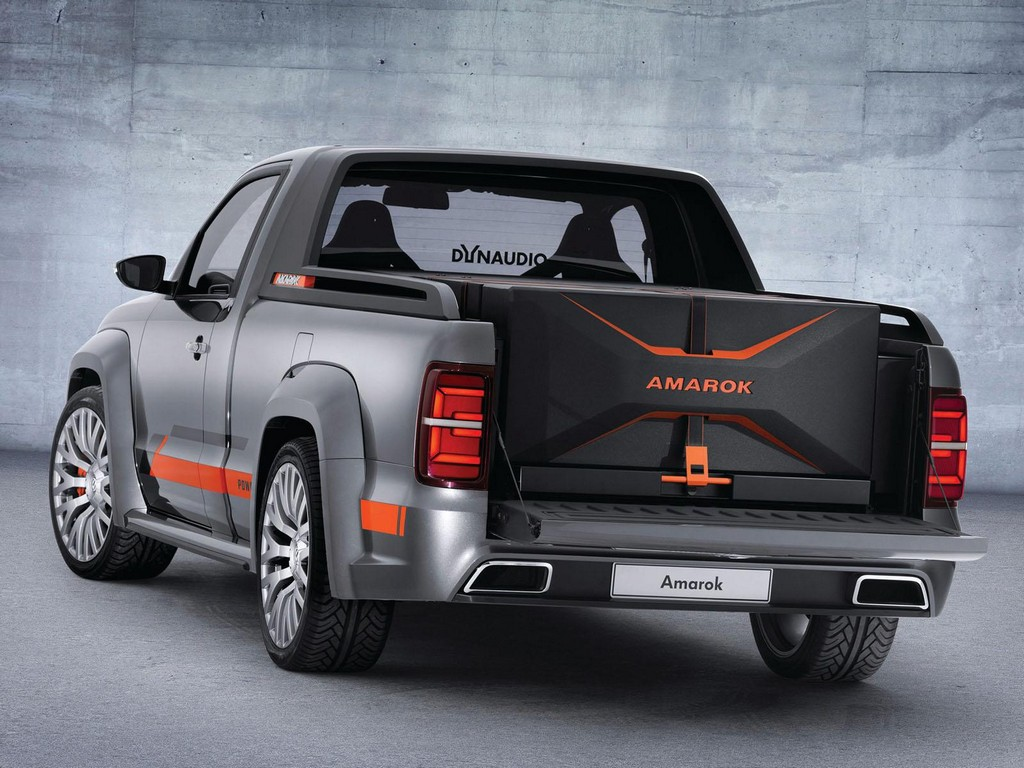 volkswagen amarok power concept headed to worthersee. Black Bedroom Furniture Sets. Home Design Ideas
