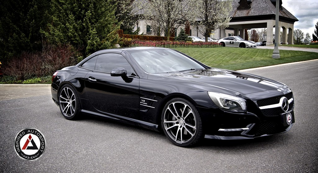 Brabus Mercedes Sl550 By Inspired Auto Sport