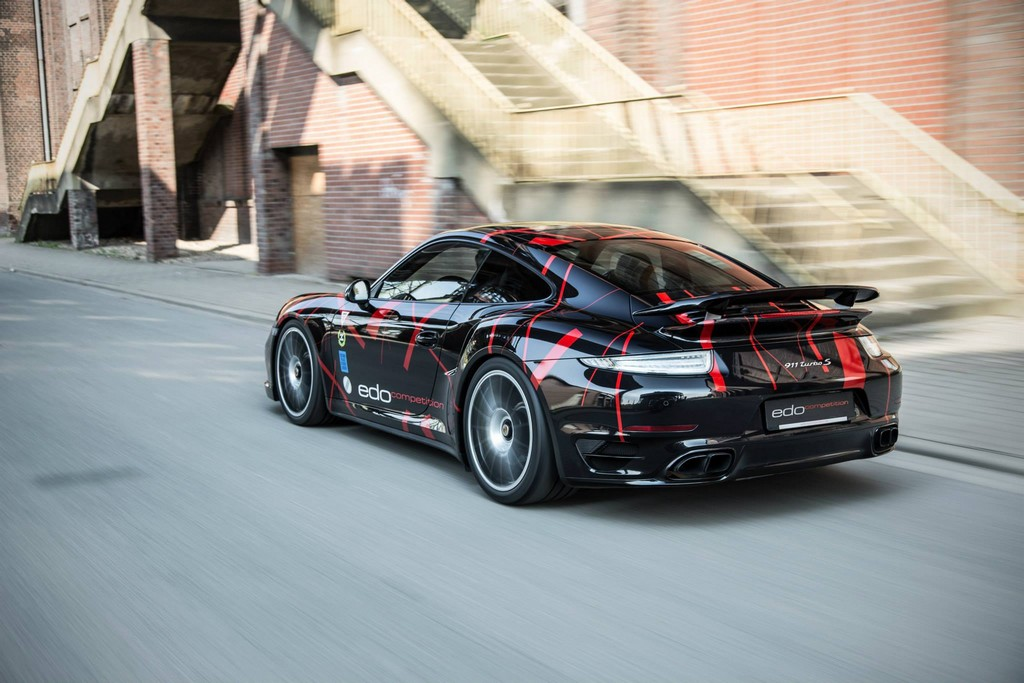 edo porsche 991 turbo s revealed with 590 hp. Black Bedroom Furniture Sets. Home Design Ideas