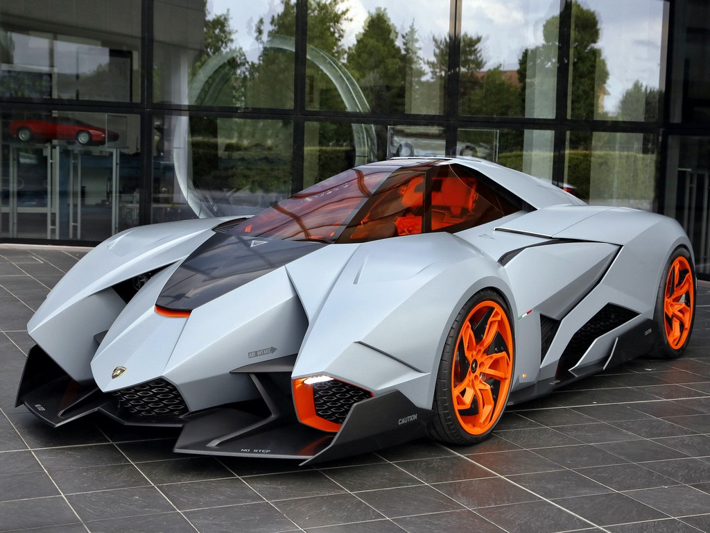 Lamborghini Egoista Becomes a Museum Piece  Motorward