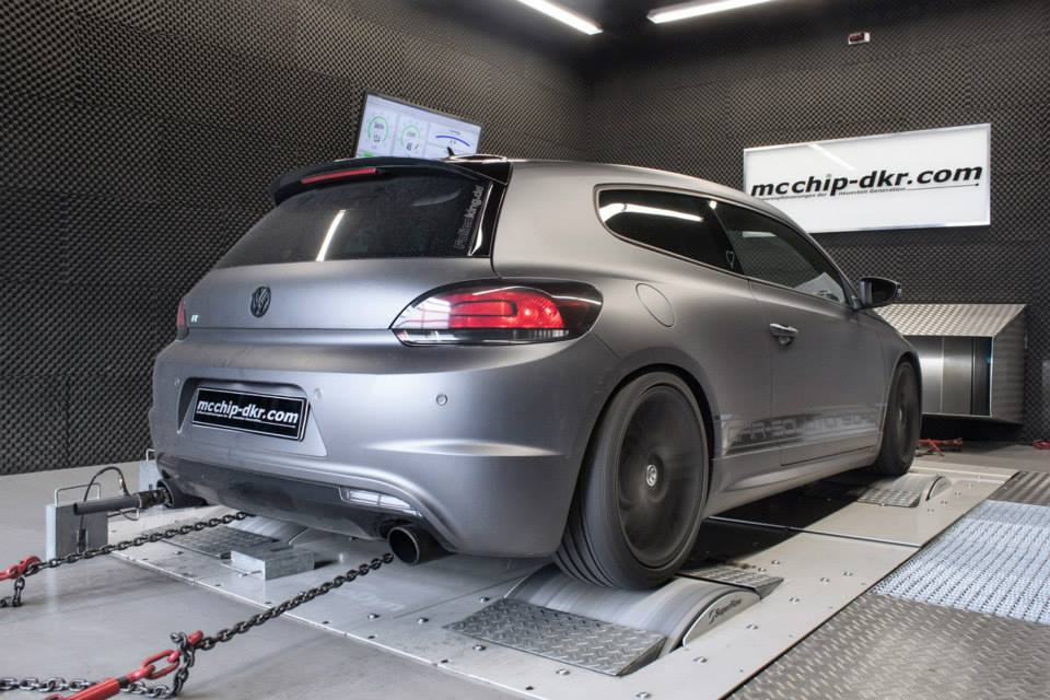 Volkswagen Scirocco R. Тюнинг от Mcchip-DKR