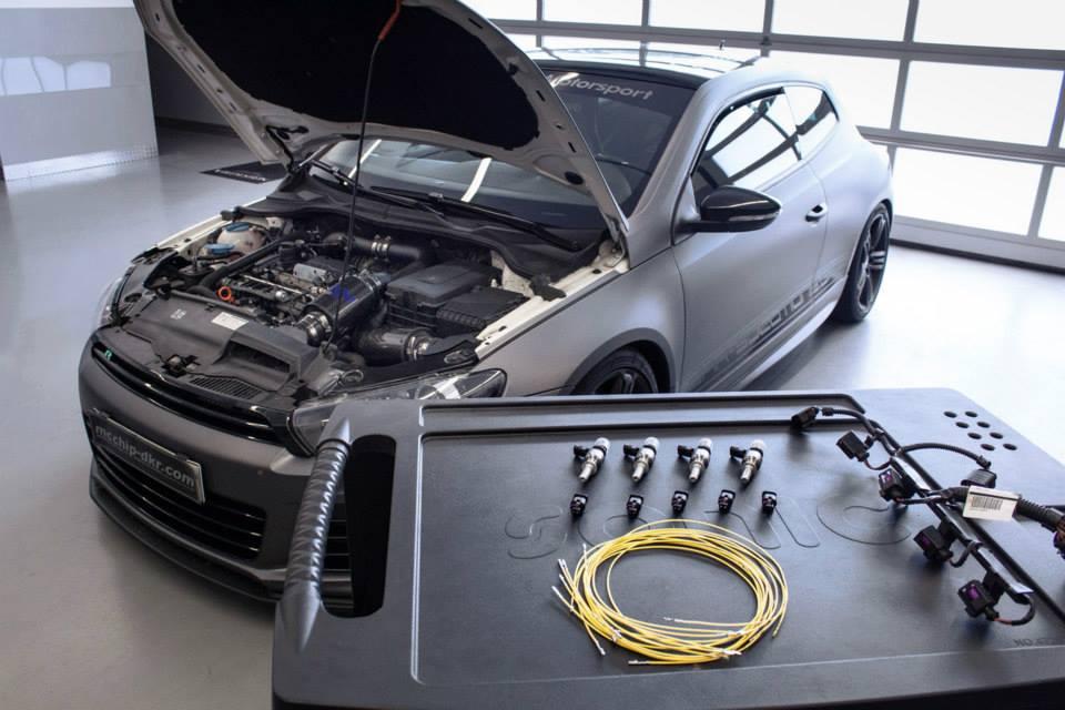 Немецкий тюнинг Volkswagen Scirocco R от Mcchip-DKR