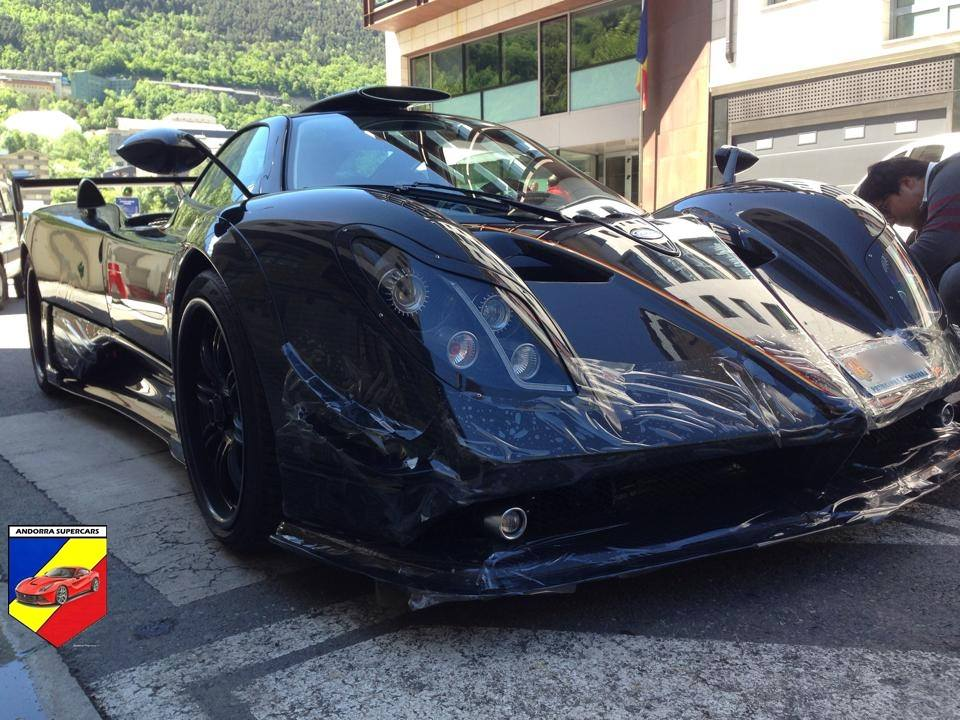 Pagani Zonda Lm 760 Ended Up In Andorra