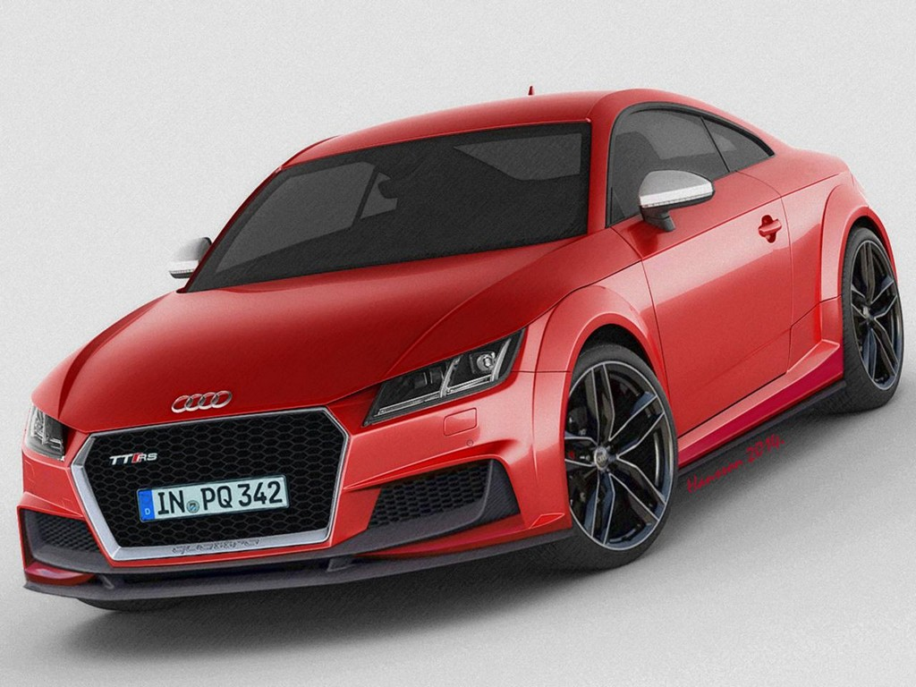2015 audi tt rs rendered with more rigour