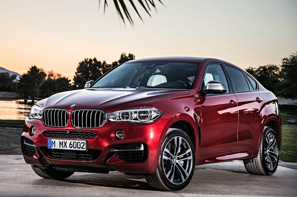 Genial 2015 BMW X6 Official 0 600x399 At 2015 BMW X6 Officially Unveiled