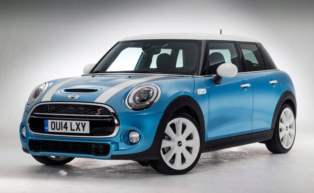 2015 mini cooper 5 door unveiled. Black Bedroom Furniture Sets. Home Design Ideas