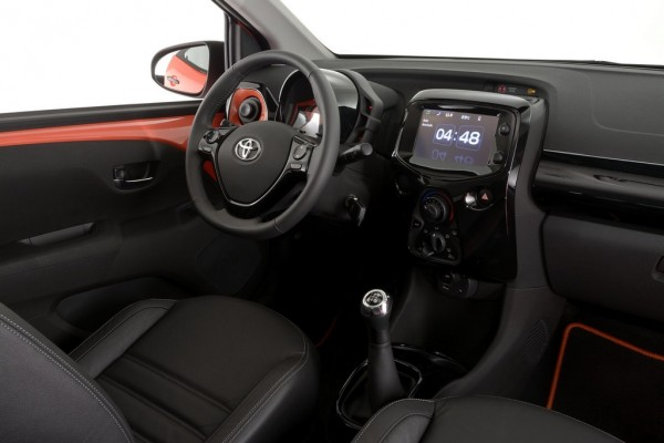 2015 Toyota Aygo 2 600x400 at 2015 Toyota Aygo Priced from £8,595 in the UK