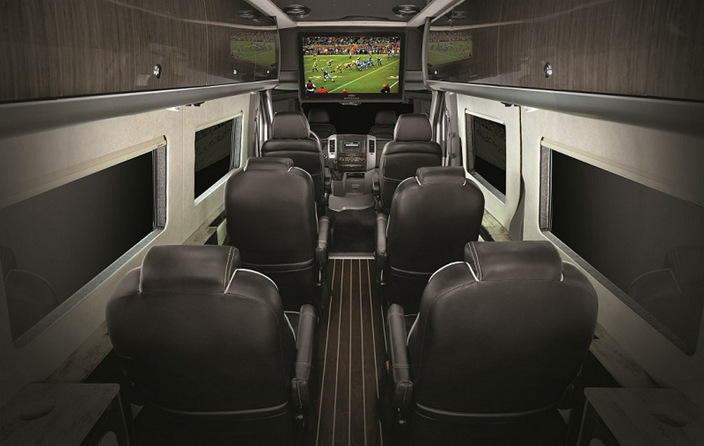 Airstream Autobahn Luxury Van Based On Mercedes Sprinter