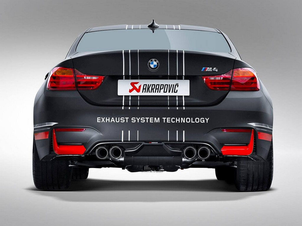 akrapovic bmw m4 exhaust system announced. Black Bedroom Furniture Sets. Home Design Ideas