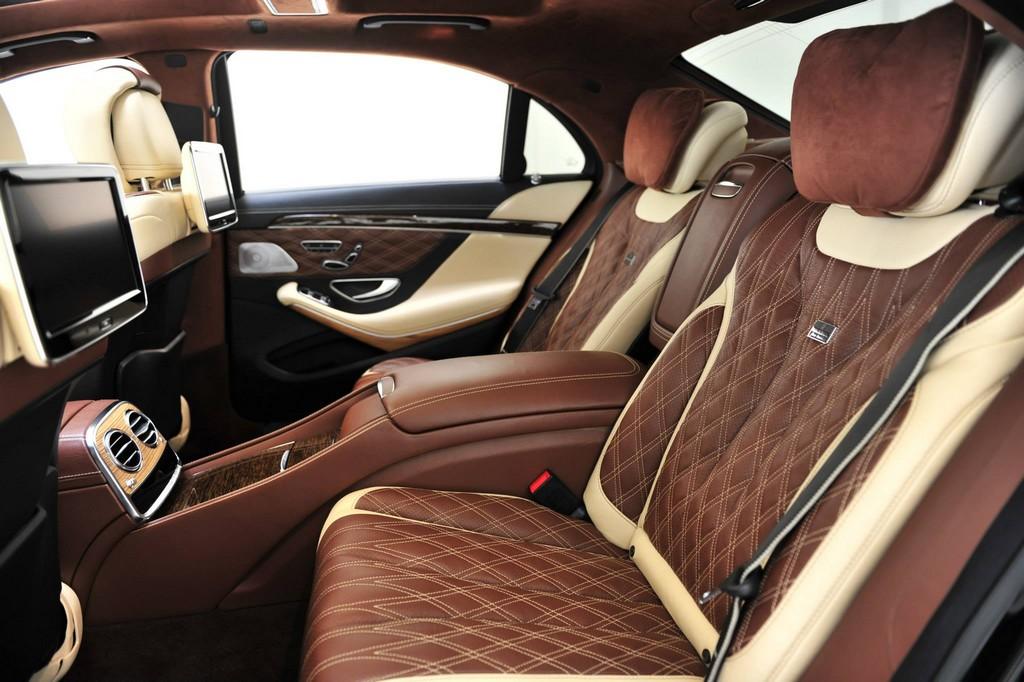 brabus mercedes s63 amg with unique interior revealed