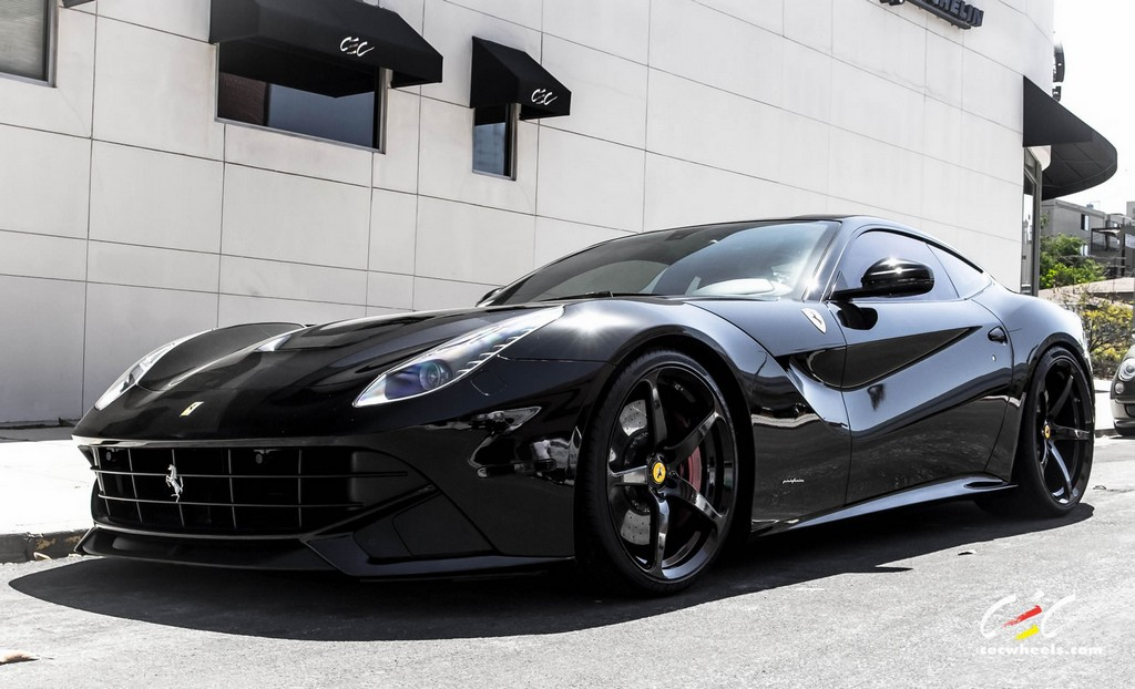 Ferrari F12 White Black Rims | www.imgkid.com - The Image ...