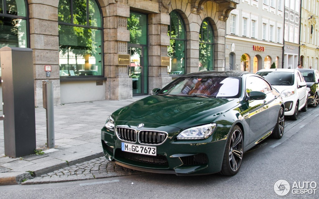 Dark Green Bmw