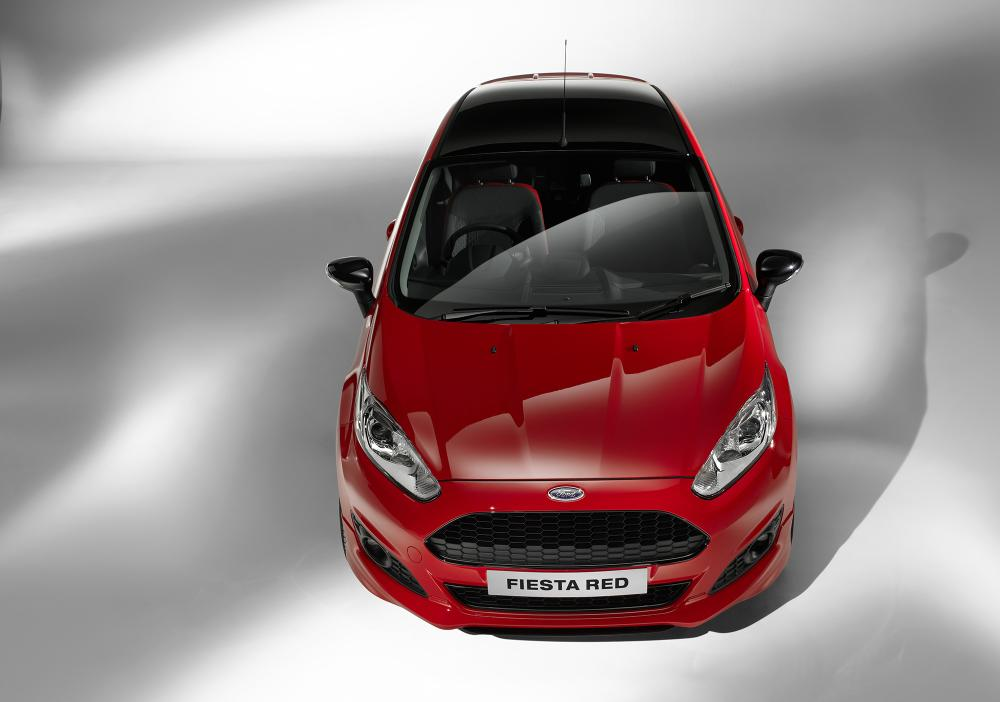 Ford Fiesta Red And Black Edition For Uk