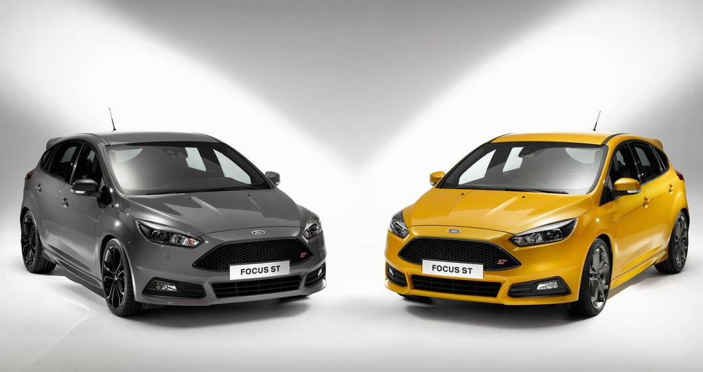 ford focus st diesel unveiled at gfos. Black Bedroom Furniture Sets. Home Design Ideas