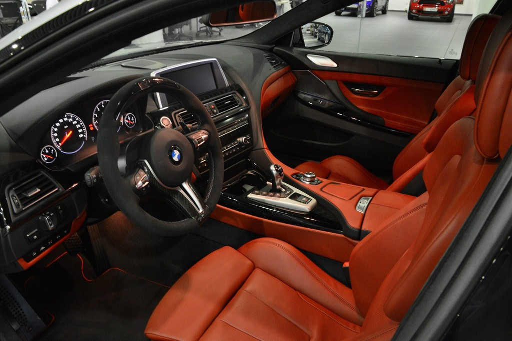 2016 Bmw M6 Gran Coupe Red 200 Interior And Exterior Images