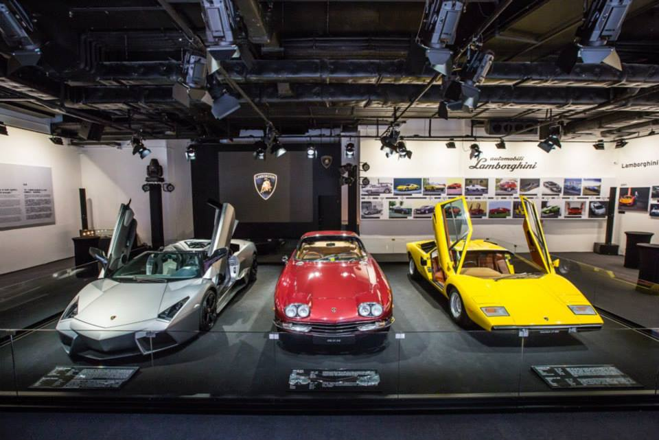lamborghini pop up museum in hong kong seems unmissable. Black Bedroom Furniture Sets. Home Design Ideas