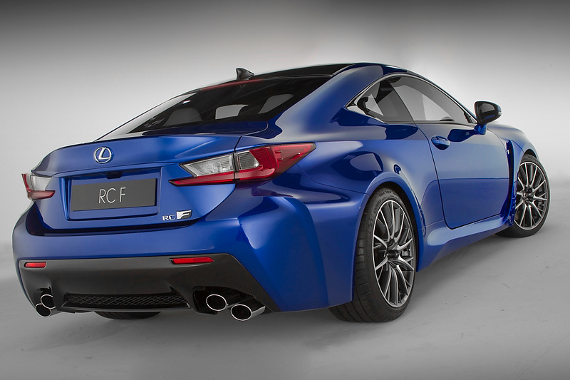 lexus rc f to make dynamic debut at goodwood fos. Black Bedroom Furniture Sets. Home Design Ideas